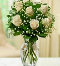 Ramo 6 rosas Blancas