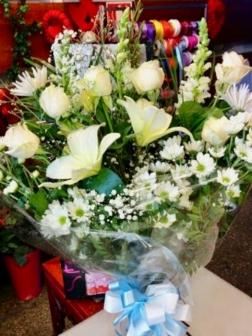 Ramo flor variada fresca funeral funeral