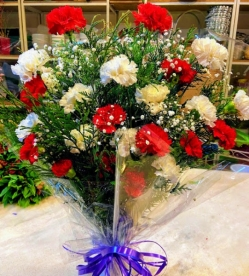 Ramo flor variada  fresca funeral