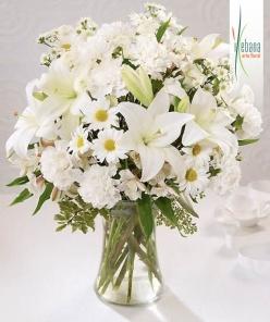 Ramo funeral flor fresca