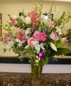 Ramo flor variado fresca funeral