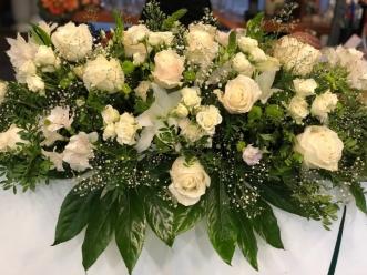 Centro flor variada funeral