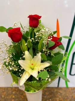 Ramos flor fresca funeral