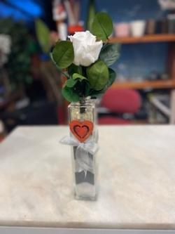 Rosa eterna o preservada